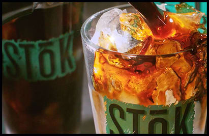 cold brew drink with ice