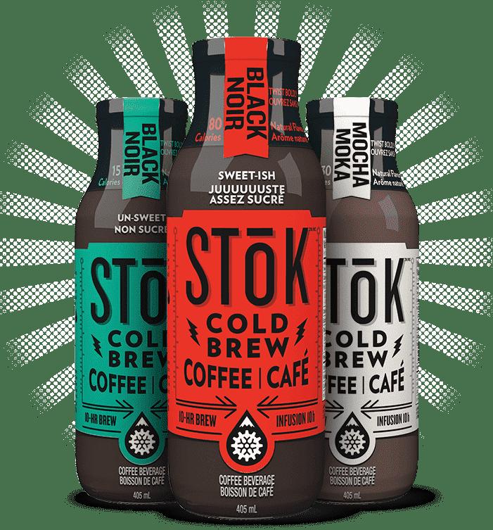 stok café cold brew famille