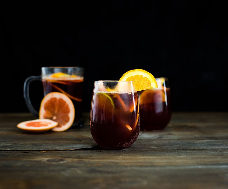 sangria cold brew coffee