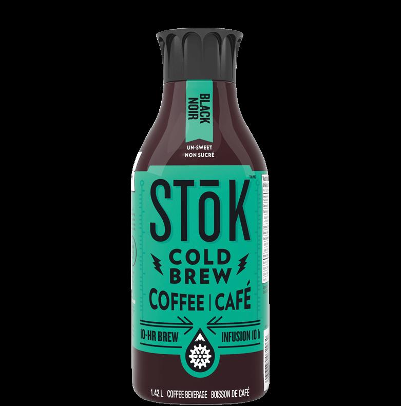 black cold brew coffee